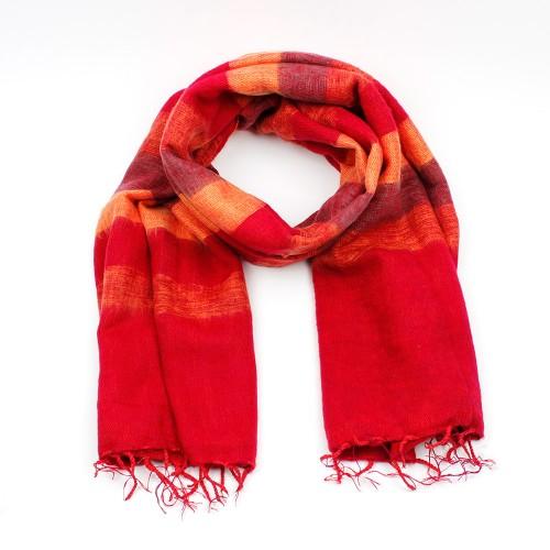 Sjaal Rood Oranje