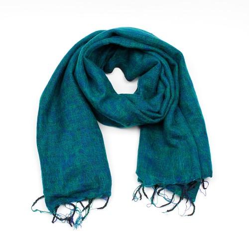 Sjaal Aquagroen