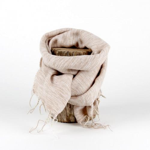 Kleine Sjaal Beige