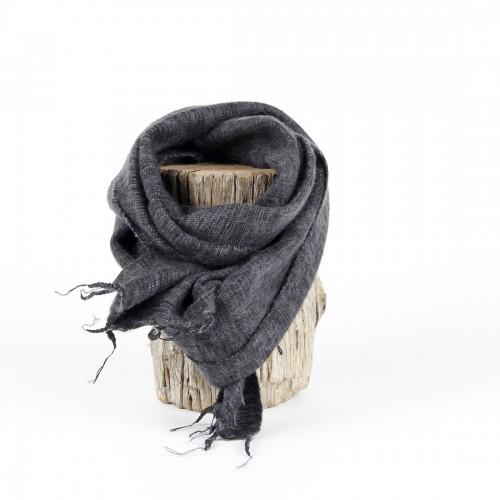 Kleine Sjaal Antraciet