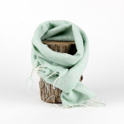 Kleine Sjaal Mintgroen
