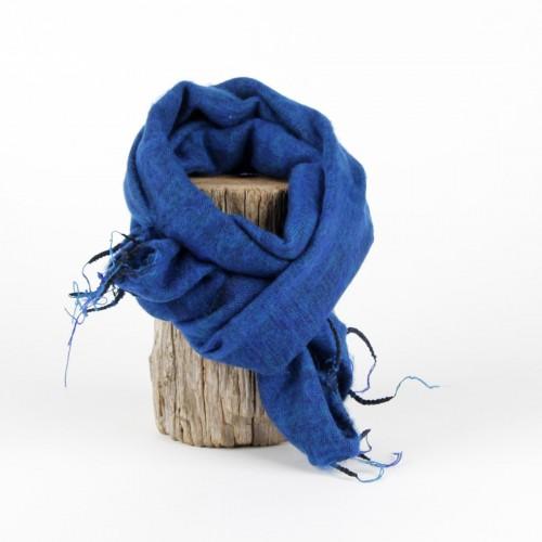 Kleine Sjaal Aquablauw
