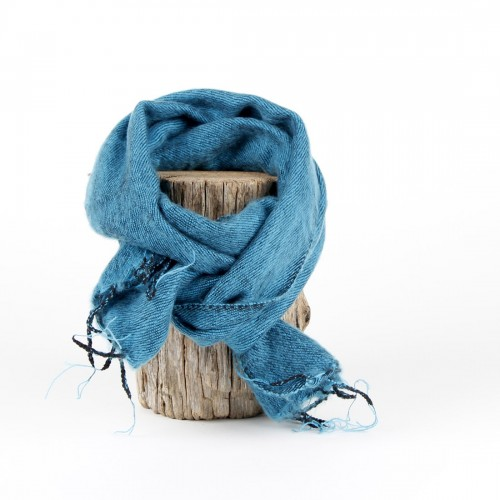 Kleine Sjaal Turquoise