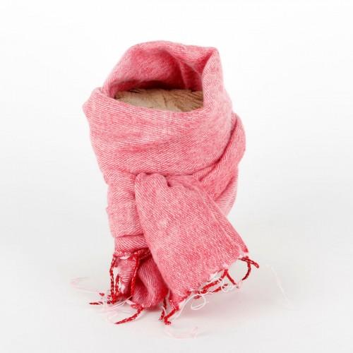 Kleine Sjaal Roze Rood