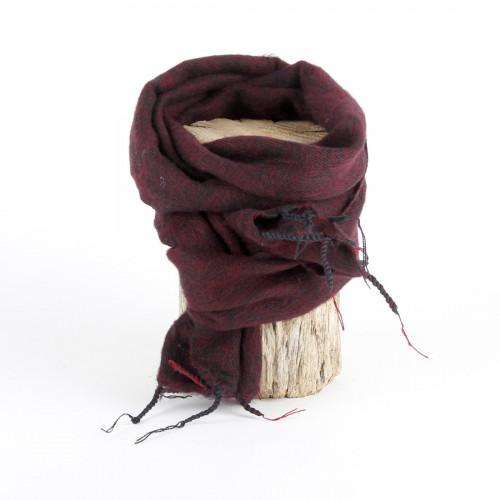 Kleine Sjaal Bordeauxrood