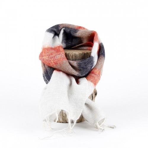 Kleine Sjaal Crème Taupe...