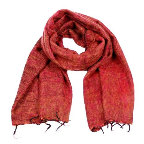 Sjaal Roze Geel Zwart