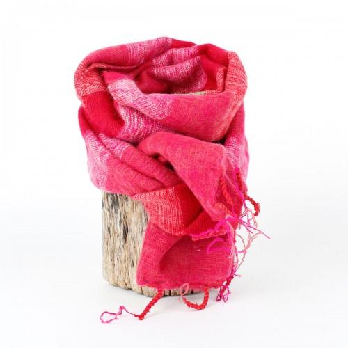 Kleine Sjaal Fuchsia Rood