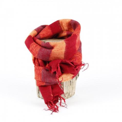 Kleine Sjaal Rood Oranje