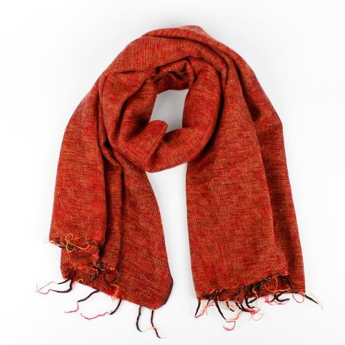 Sjaal Oranjebruin