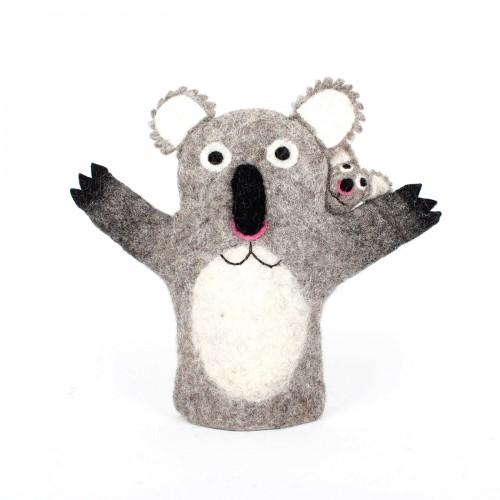 Handpop Koala met Baby