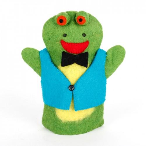 Handpop Kikker