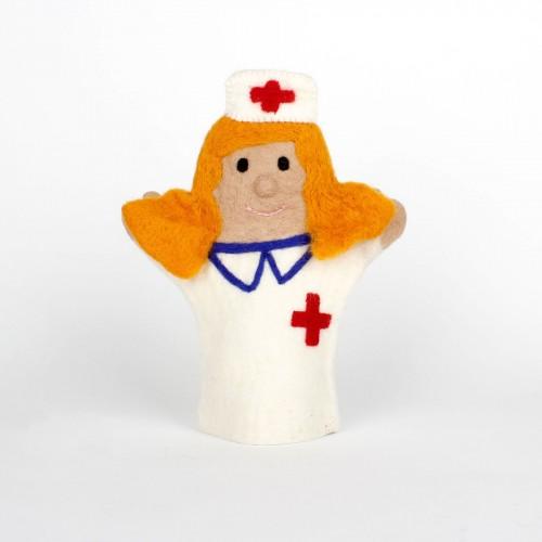 Handpop Verpleegster