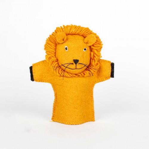 Handpop Leeuw 3D