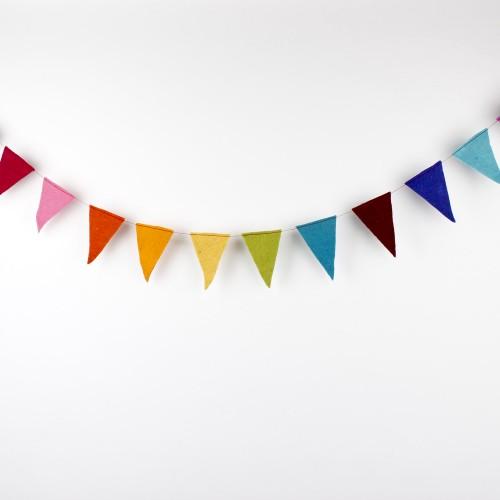 Viltslinger Vlag Multicolor