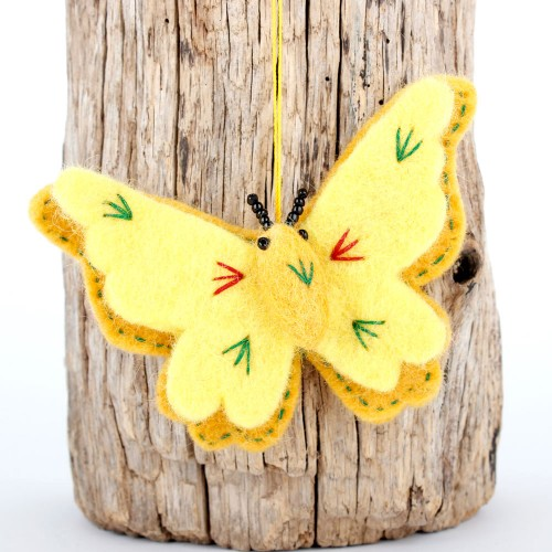 Hanger Vlinder Geel