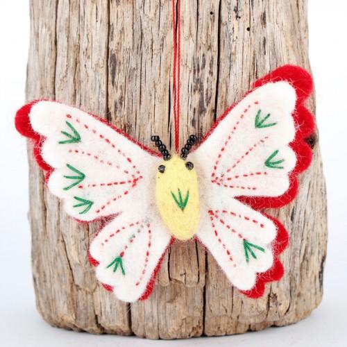Hanger Vlinder Rood