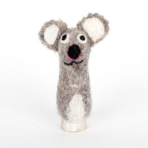 Vingerpopje Koala 3D