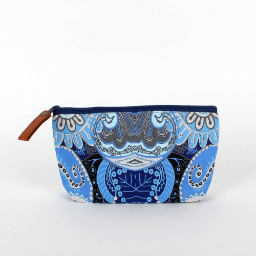 Hippy Chic Blue Make-up Tas