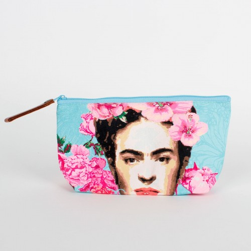 Frida Sea Blue Make-up Tas