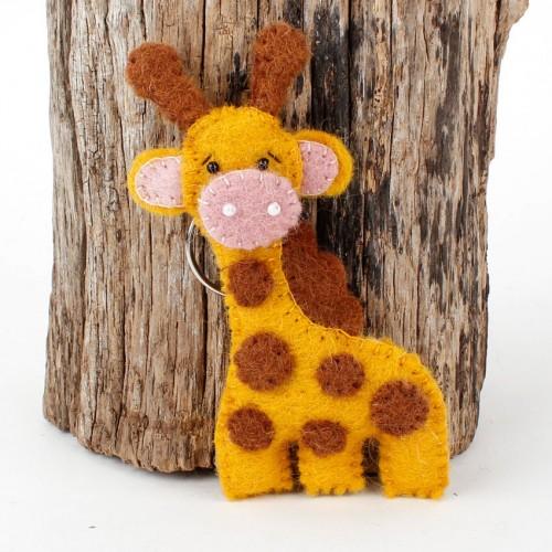 Sleutelhanger Vilt Giraffe