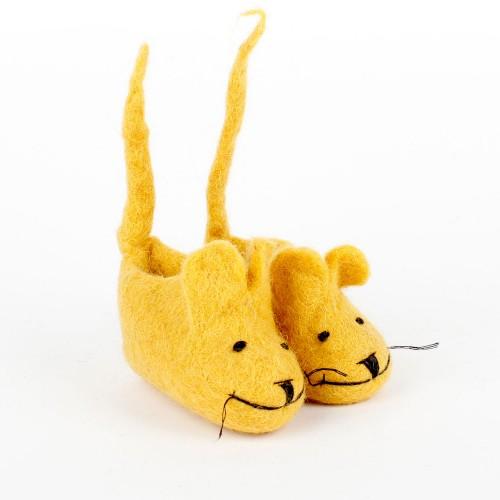 Slofjes Muis met Staart...