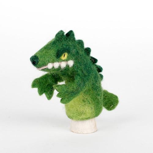 Vingerpop Krokodil 3D