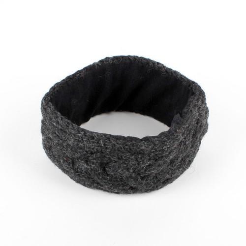 Haarband Kabel Antraciet