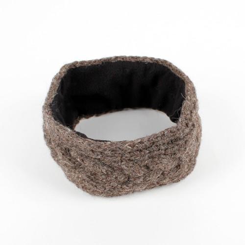 Haarband Kabel Bruin