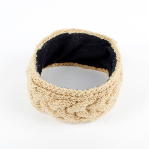 Haarband Kabel Beige