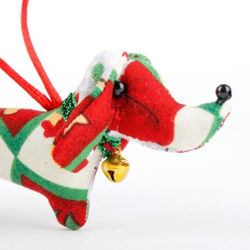 Kerstteckel Kerstman Rood...