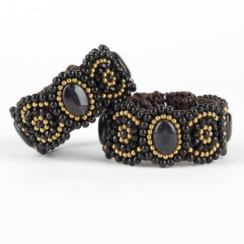 Armband Zwart Smal