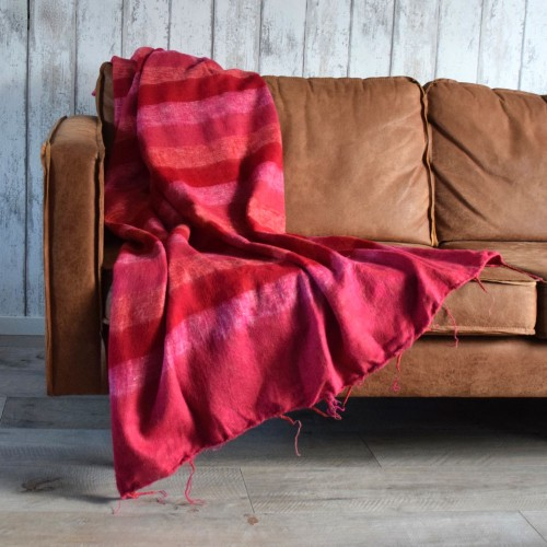 Plaid Fuchsia Rood