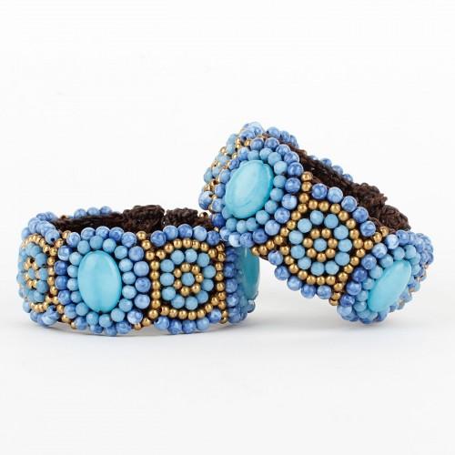 Armband Lavendel Smal
