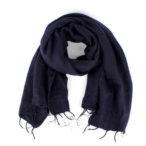Sjaal Donkerblauw