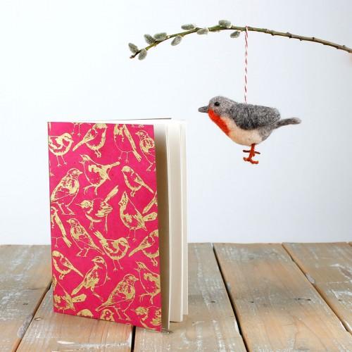 Notitieboekje Tuinvogels...