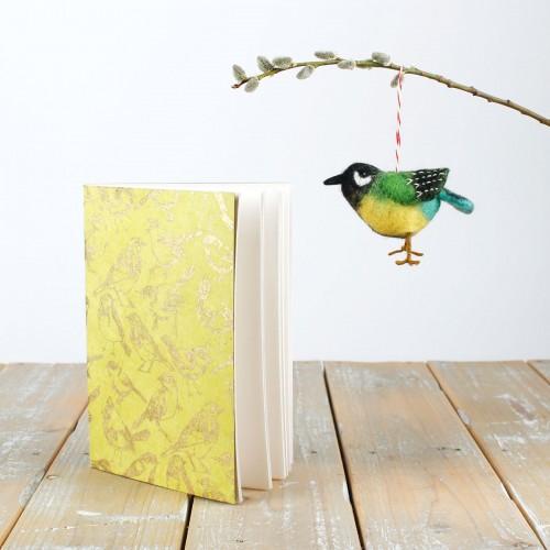 Notitieboekje Tuinvogels Lemon