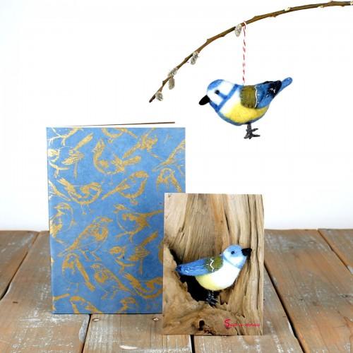Cadeaupakket Tuinvogels Blauw
