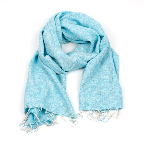 Sjaal Ibizablauw