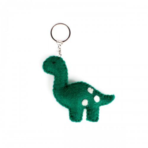 Sleutelhanger Vilt Dino Groen