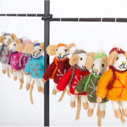 Hanger Muis Multicolor 8 st.