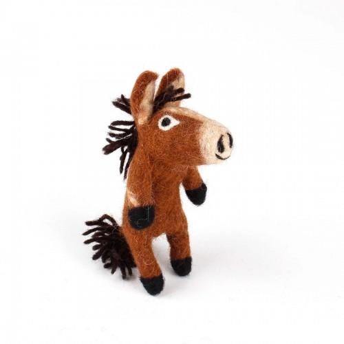 Vingerpopje Paard 3D