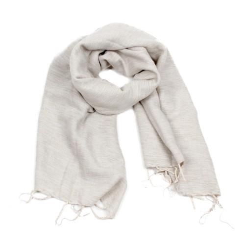 Sjaal Crème